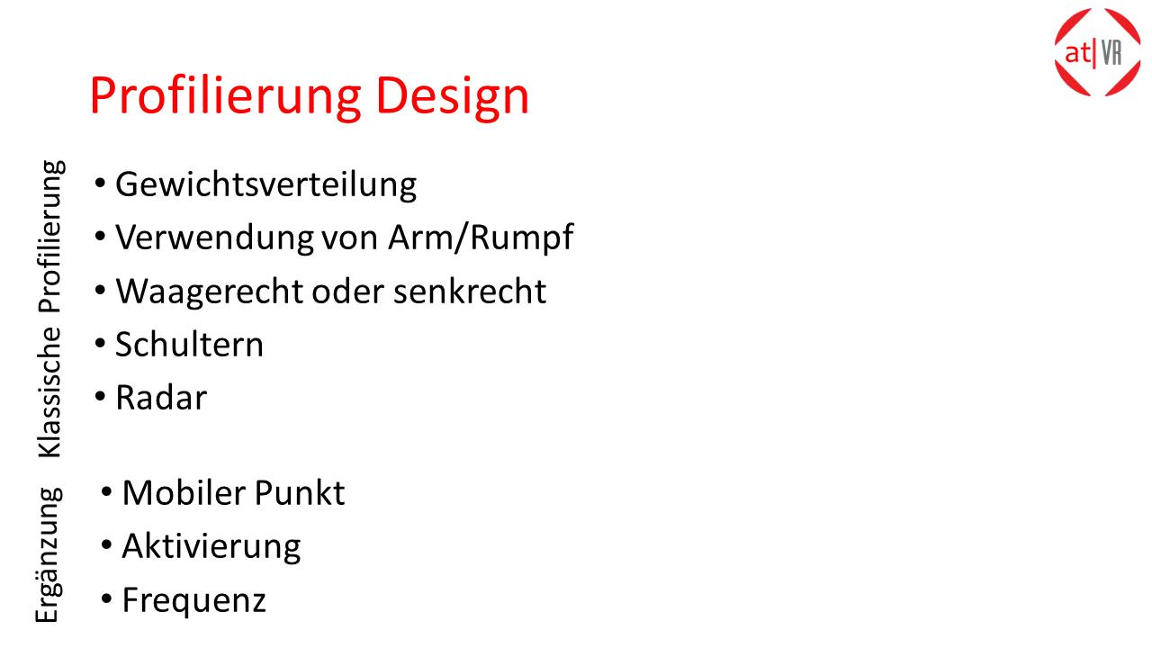 ATVR :_Profilierung Design